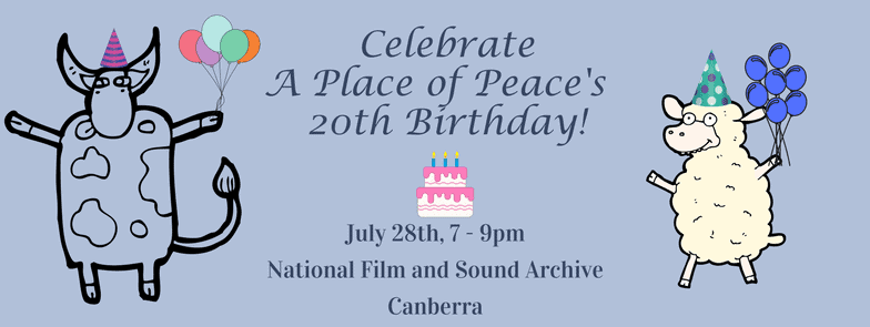 Celebrating A Place of Peace's 20th Birthday